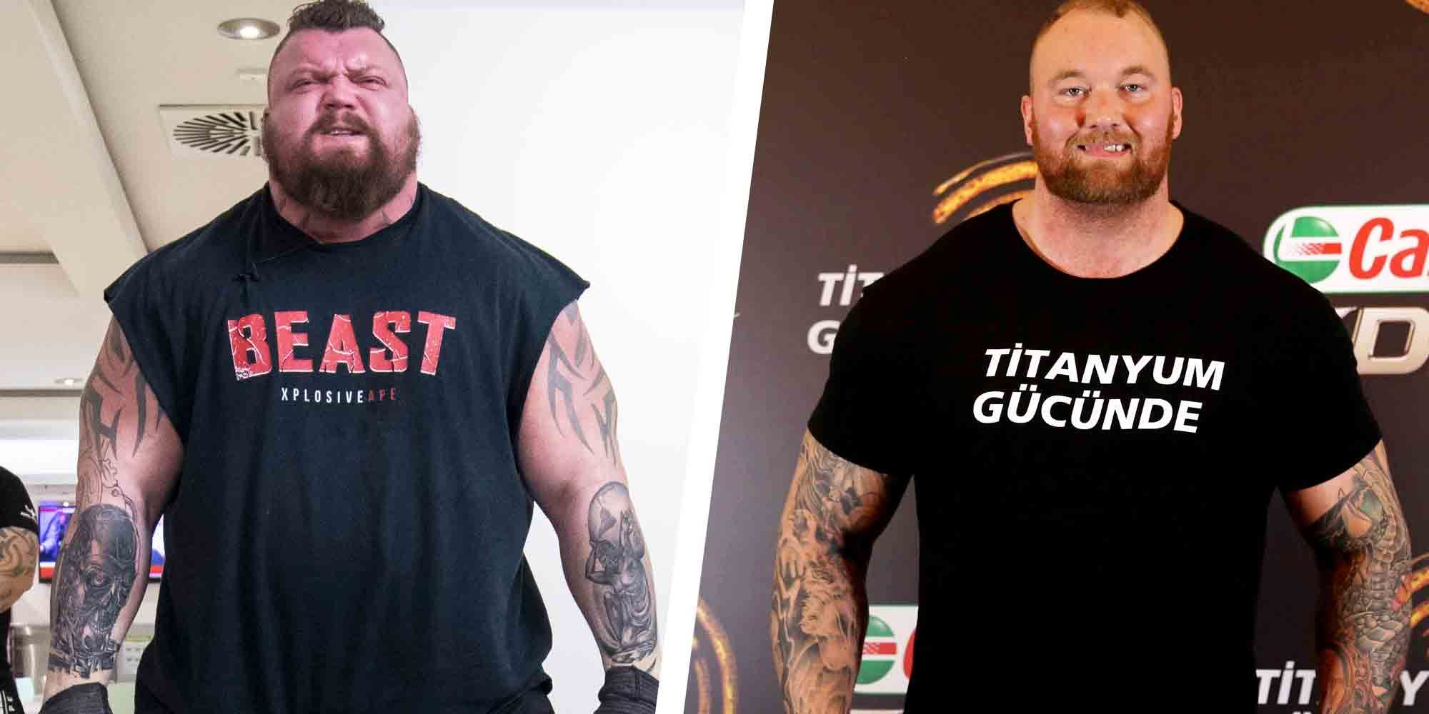 Heavy hitting: The Mountain to fight fellow World's Strongest Man Eddie Hall in boxing match! - Eddie Hall
