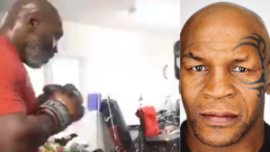 Watch: Watching a 53 year old Mike Tyson hit pads is still terrifying! - Tyson