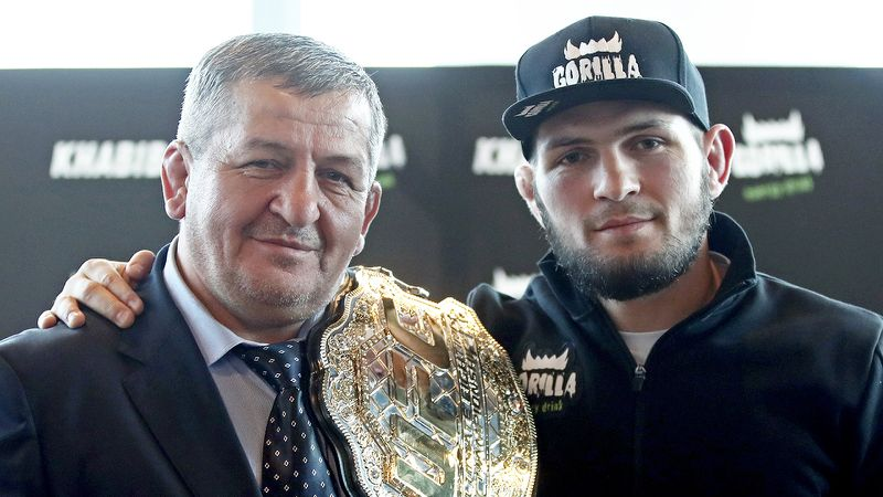 Khabib reveals that his father is cured of Covid-19 - but in ICU still - Khabib