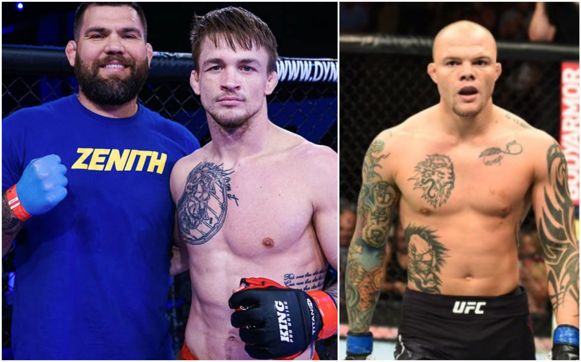 Anthony Smith shoots down comparison between him and Max Rohskopf: He wanted out of there! - Anthony Smith