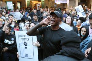 Israel Adesanya, George Floyd, Black Lives Matter, Auckland, Minneapolis
