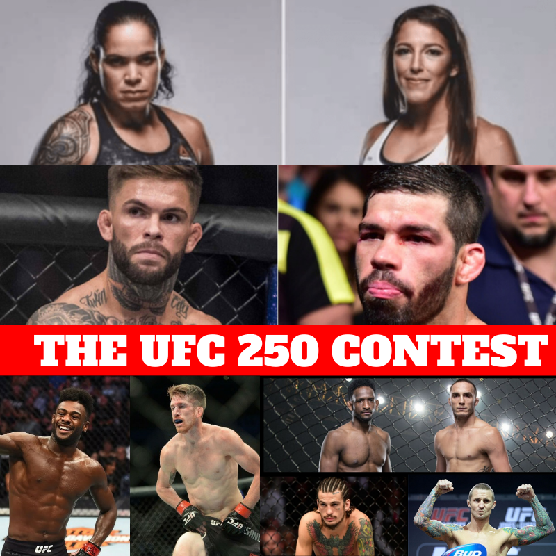 THE UFC 250 CONTEST | MMA INDIA SHOW -