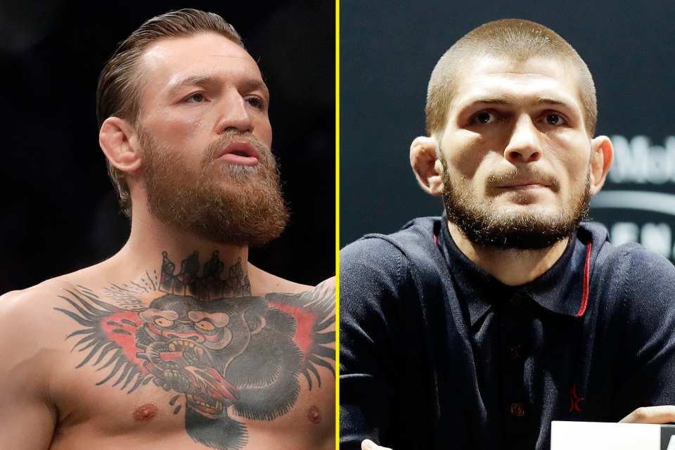 Conor McGregor claims Khabib faked father's Covid-19 diagnosis to stay inactive - Khabib