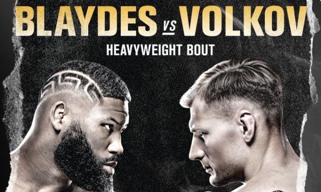 UFC on ESPN: Blaydes vs. Volkov - UFC on ESPN: Blaydes vs. Volkov