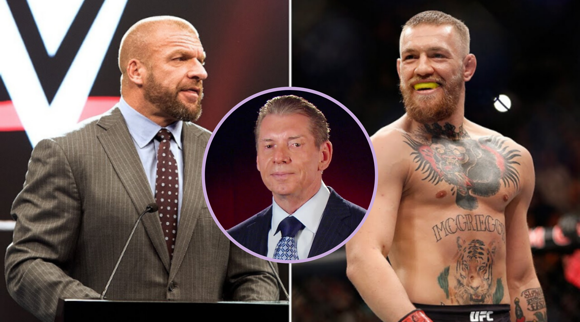 Triple H: Conor McGregor vs Vince McMahon in WWE will be a match made in heaven! - Triple H