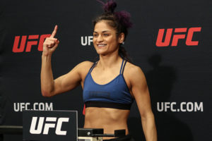 Cynthia Calvillo vs. Jessica Eye, UFC