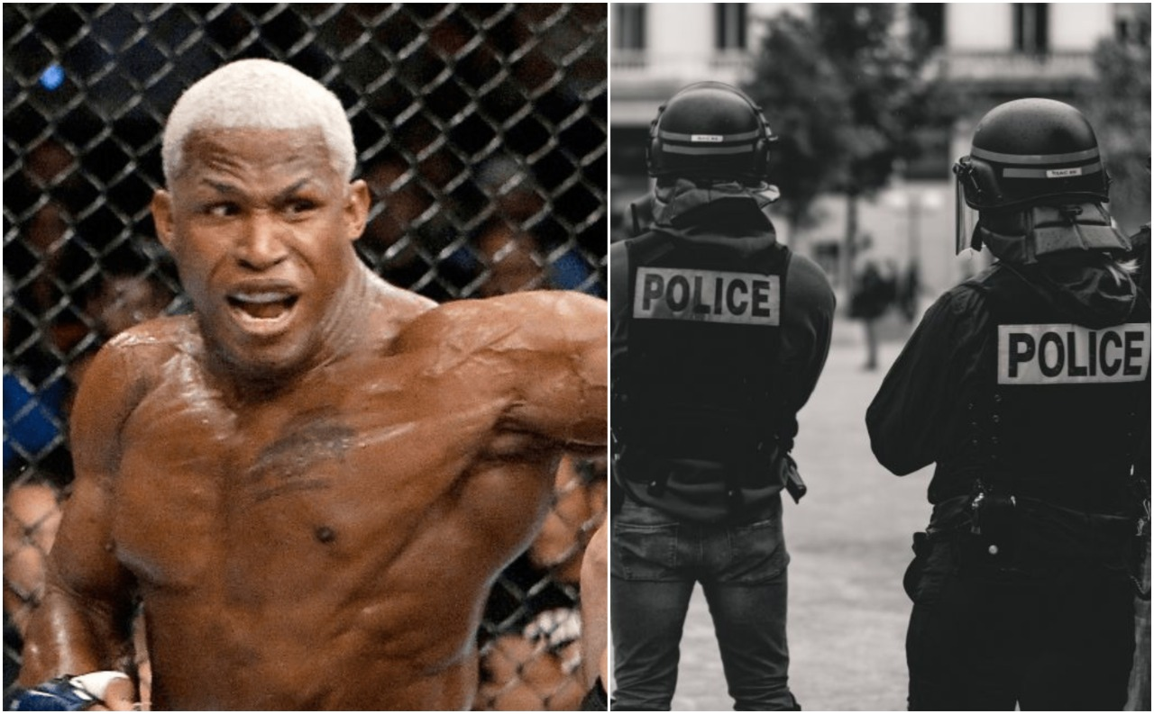 When former UFC Champion Kevin Randleman was a victim of police brutality - Kevin Randleman