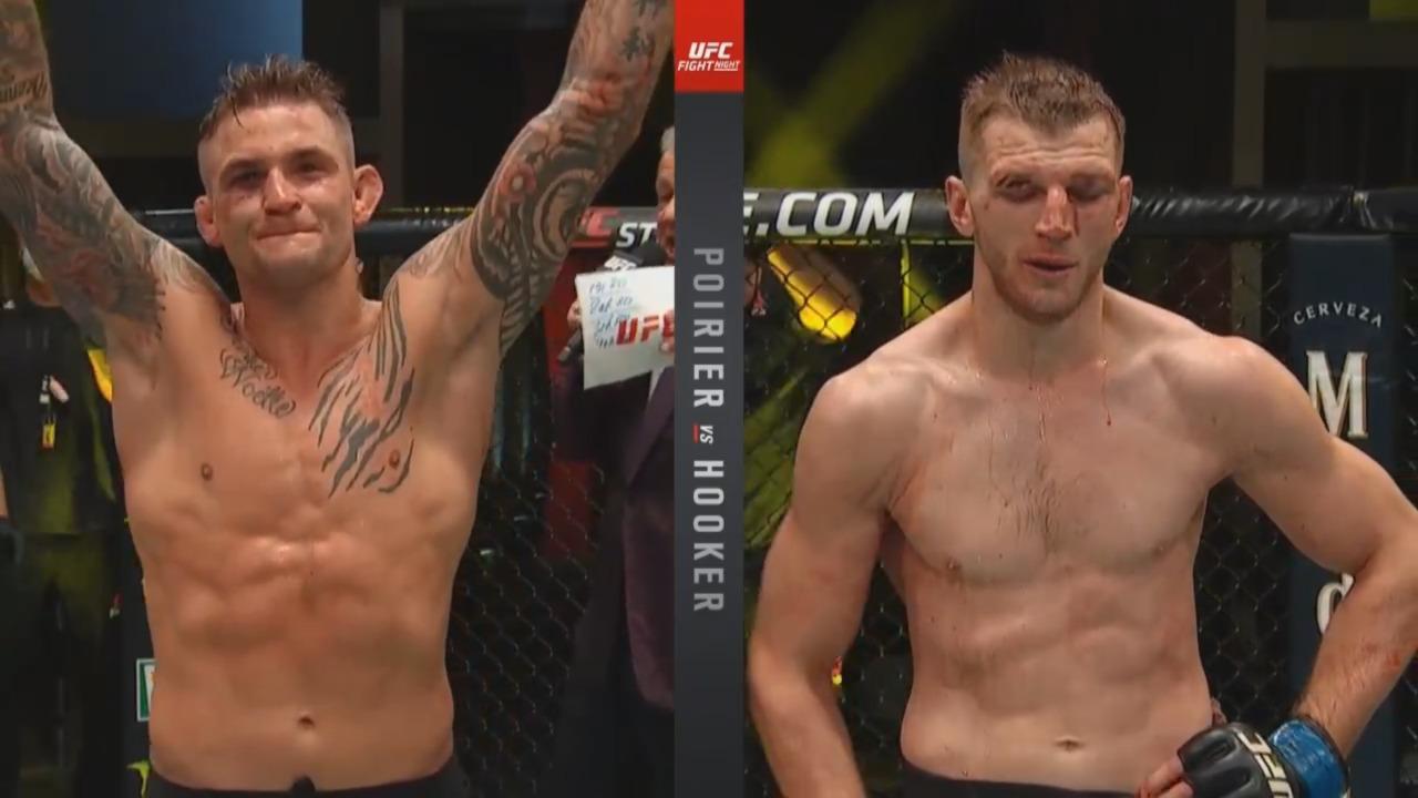 UFC Fight Night: Poirier vs Hooker Live Results - Poirier