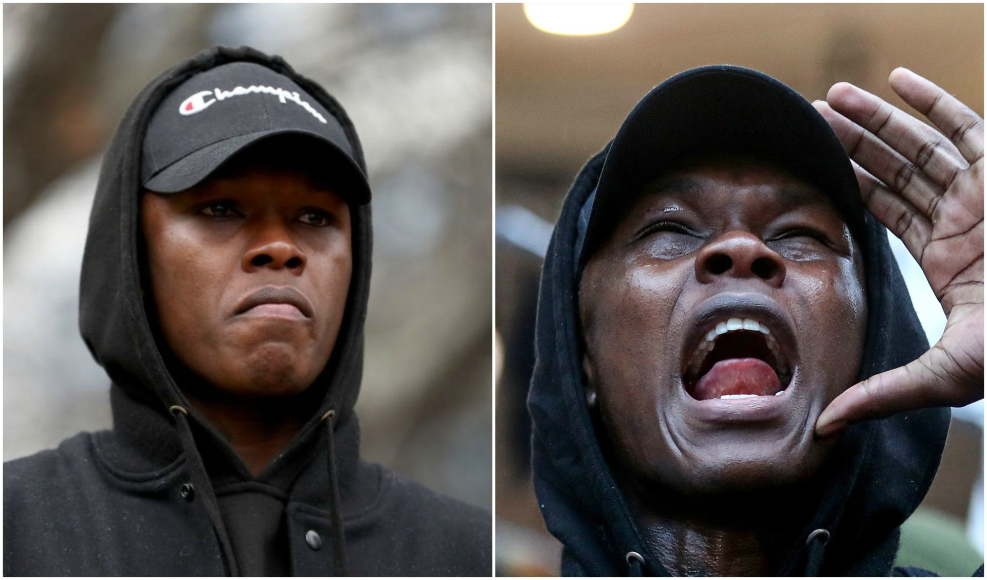Watch: UFC Middleweight champion Israel Adesanya rouses the crowd at a Black Lives Matter rally in NZ! - Israel Adesanya