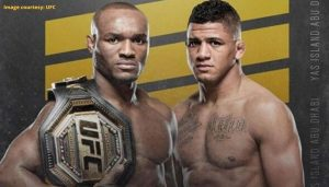 Kamaru Usman and Gilbert Burns
