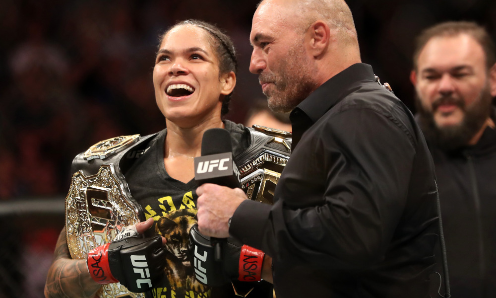 Female champ Amanda Nunes