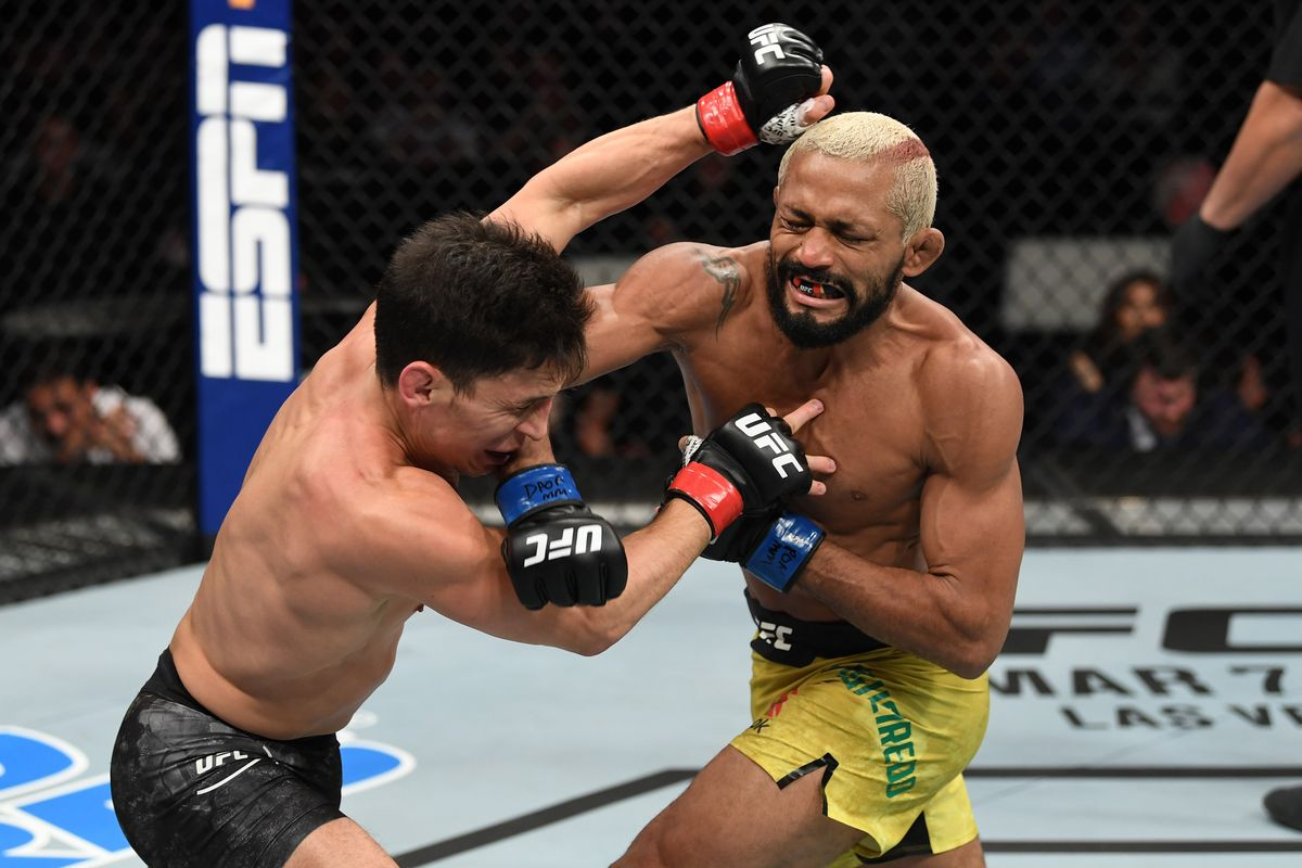 Deiveson Figueiredo tests Covid-19 positive ahead of rematch against Joseph Benavidez - Deiveson Figueiredo