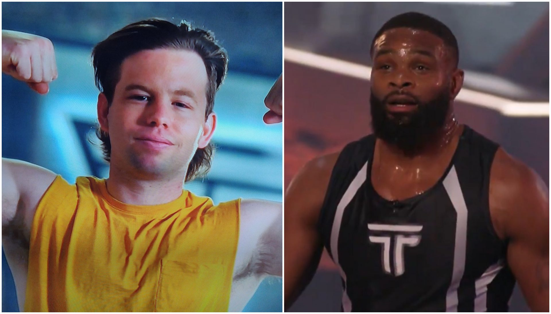 Watch: Tyron Woodley falls short in the Titan Games against a teacher! - Tyron Woodley