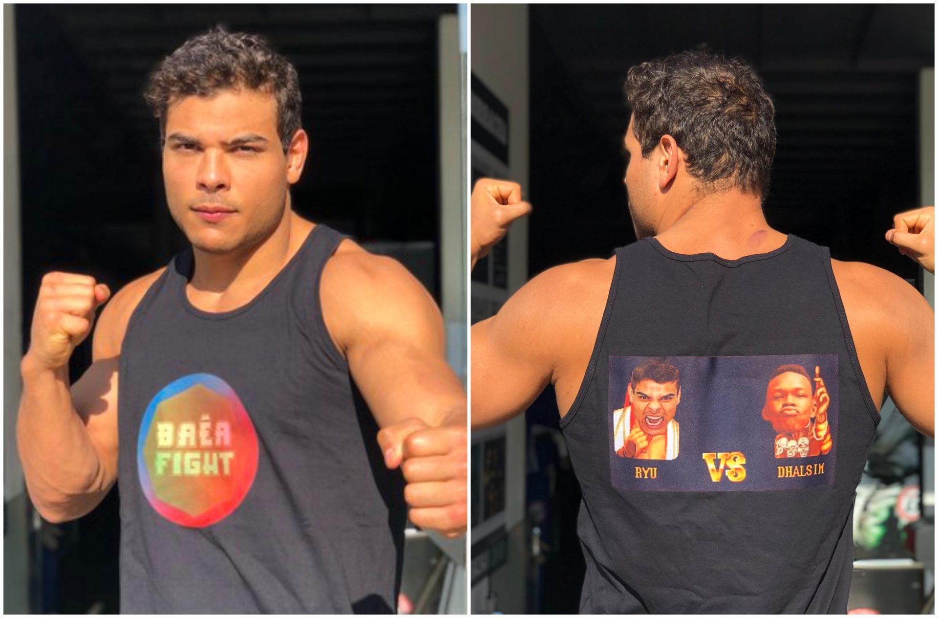 Paulo Costa puts himself on the cover of Street Fighter in reply to Israel Adesanya headlining UFC 4 - UFC 4