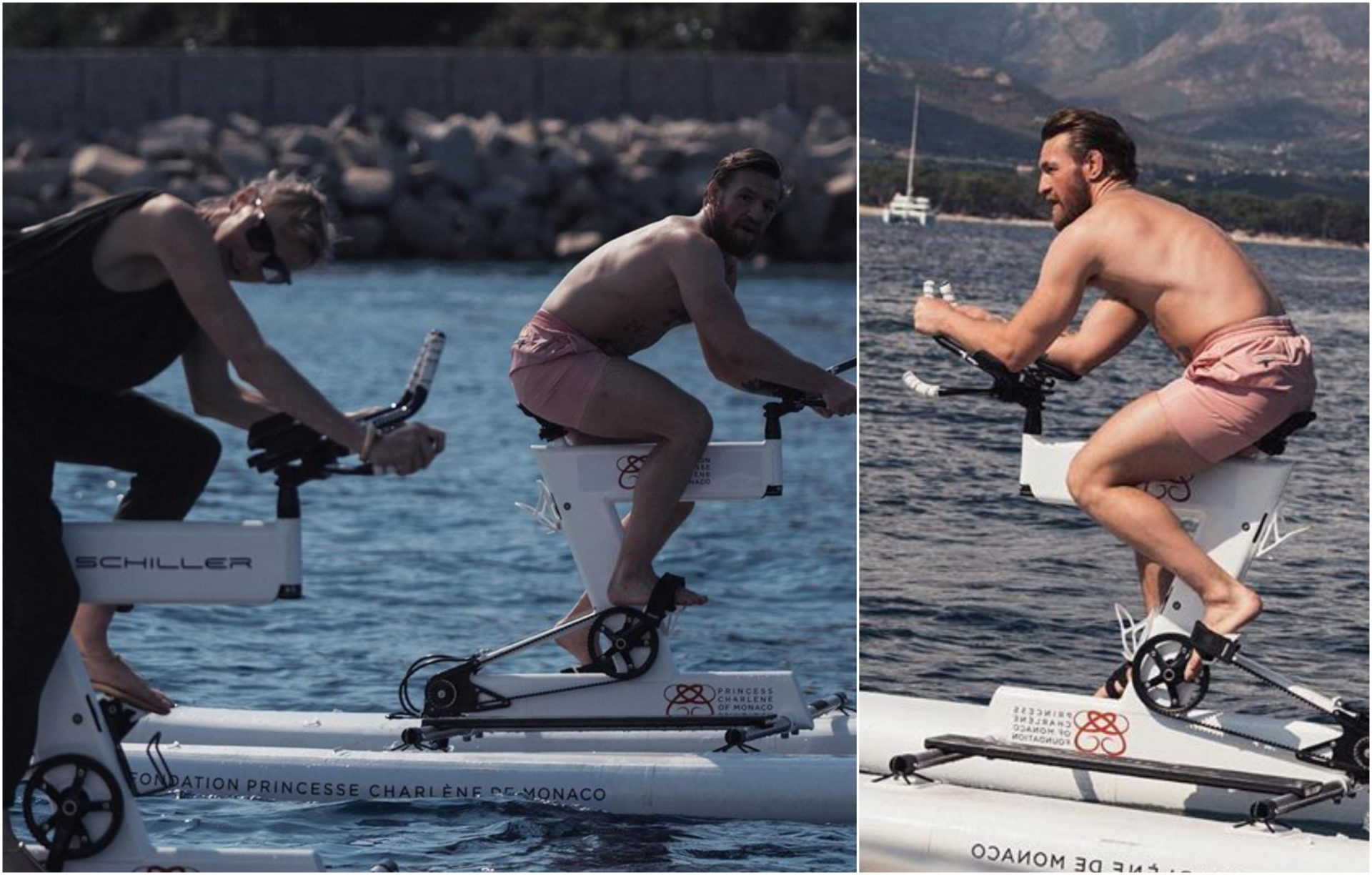 Conor McGregor plans 180km 'water voyage' with Princess Charlene of Monaco for charity - Conor McGregor