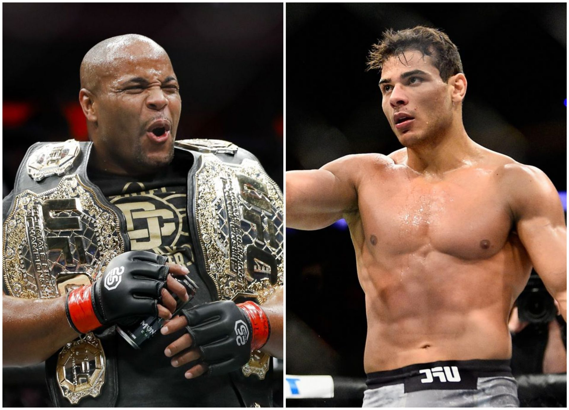 Daniel Cormier claims Paulo Costa 'breaks' sparring partners and gets told to 'shut the f**k up' by middleweight - Paulo Costa