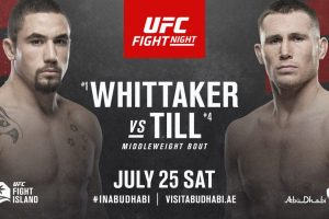 Whittaker vs Till, UFC