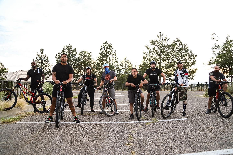 What is Jon Jones doing these days? mountain biking of course! - Jon Jones