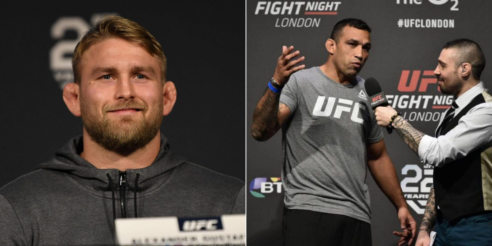 Fabricio Werdum takes a shot at Alexander Gustafsson over past sparring and broken nose claims - Fabricio Werdum