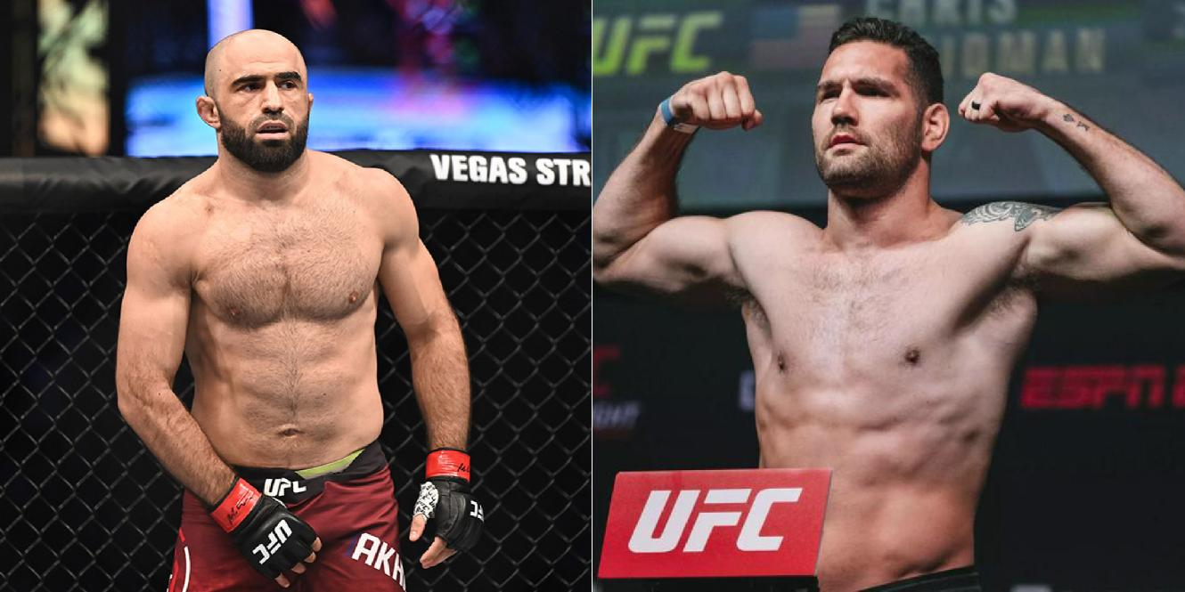 Chris Weidman plans to take down Omari Akhmedov and knock him out - Chris Weidman