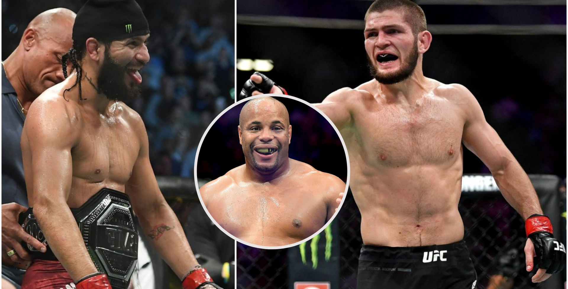 Daniel Cormier hints that Jorge Masvidal is a bigger draw than teammate Khabib Nurmagomedov - Jorge Masvidal