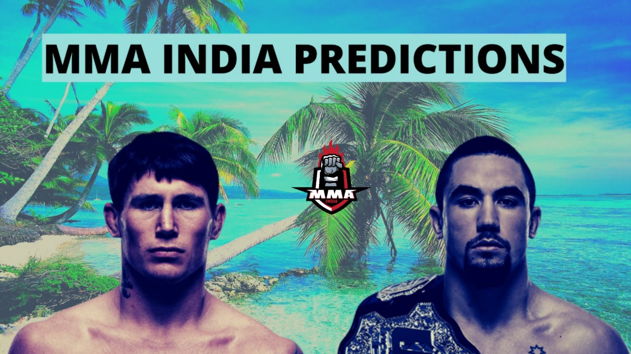 UFC Fight Night: Whittaker vs. Till predictions, betting odds - Whittaker