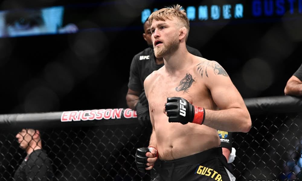 """I feel strong, I feel fast"" - Alexander Gustafsson says he is eyeing title shot at heavyweight - Alexander Gustafsson"