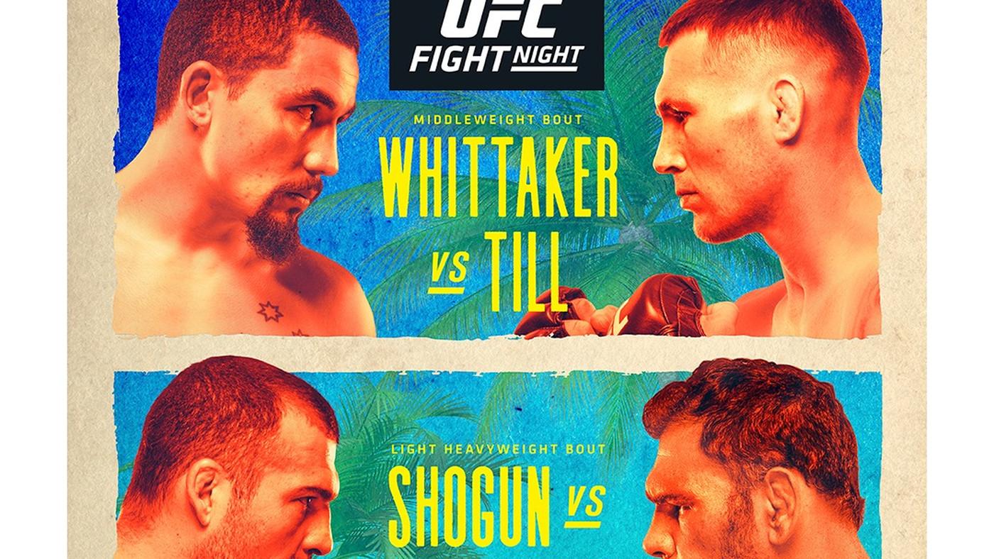 UFC on ESPN: Whittaker vs. Till - UFC