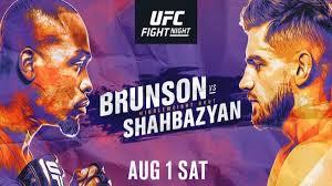 UFC Fight Night: Brunson vs. Shahbazyan - UFC Fight Night: Brunson vs. Shahbazyan