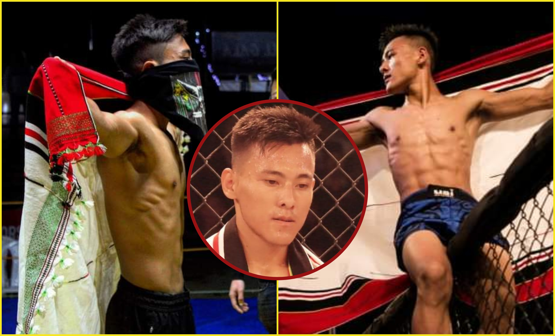 Meet Mairidin Newmai, who is a teacher by day and MMA fighter by night - Mairidin Newmai