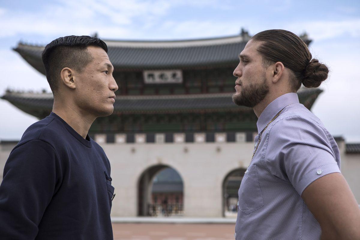 Korean Zombie vs Brian Ortega set for Oct. 17 UFC event - Ortega