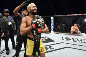 Deiveson Figueiredo says unfair to give Garbrandt a title shot
