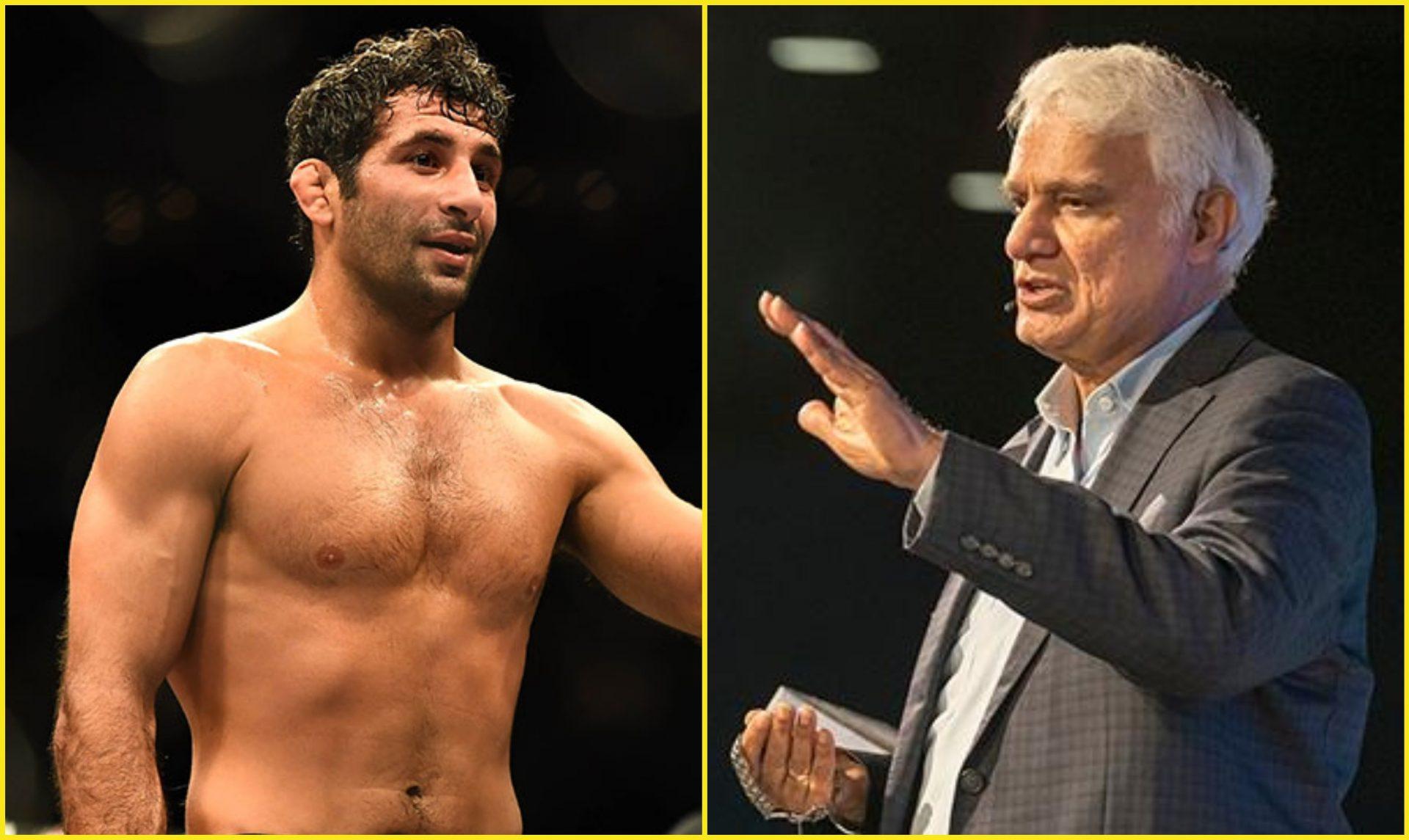UFC fighter Beneil Dariush pays tribute to Chennai born author Ravi Zacharias - Dariush