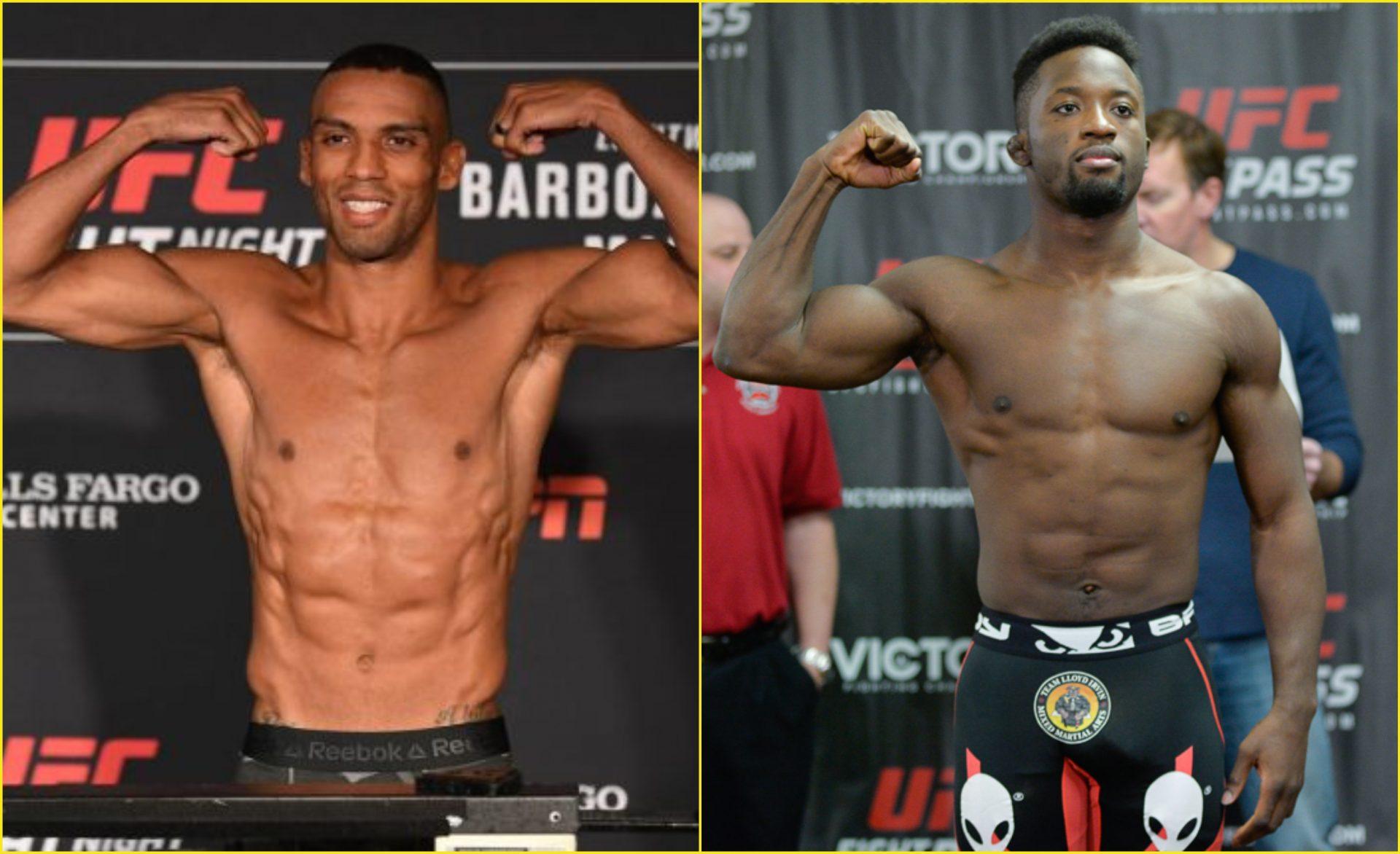 Edson Barboza vs Sodiq Yusuff set for Oct 10 UFC event - Barboza
