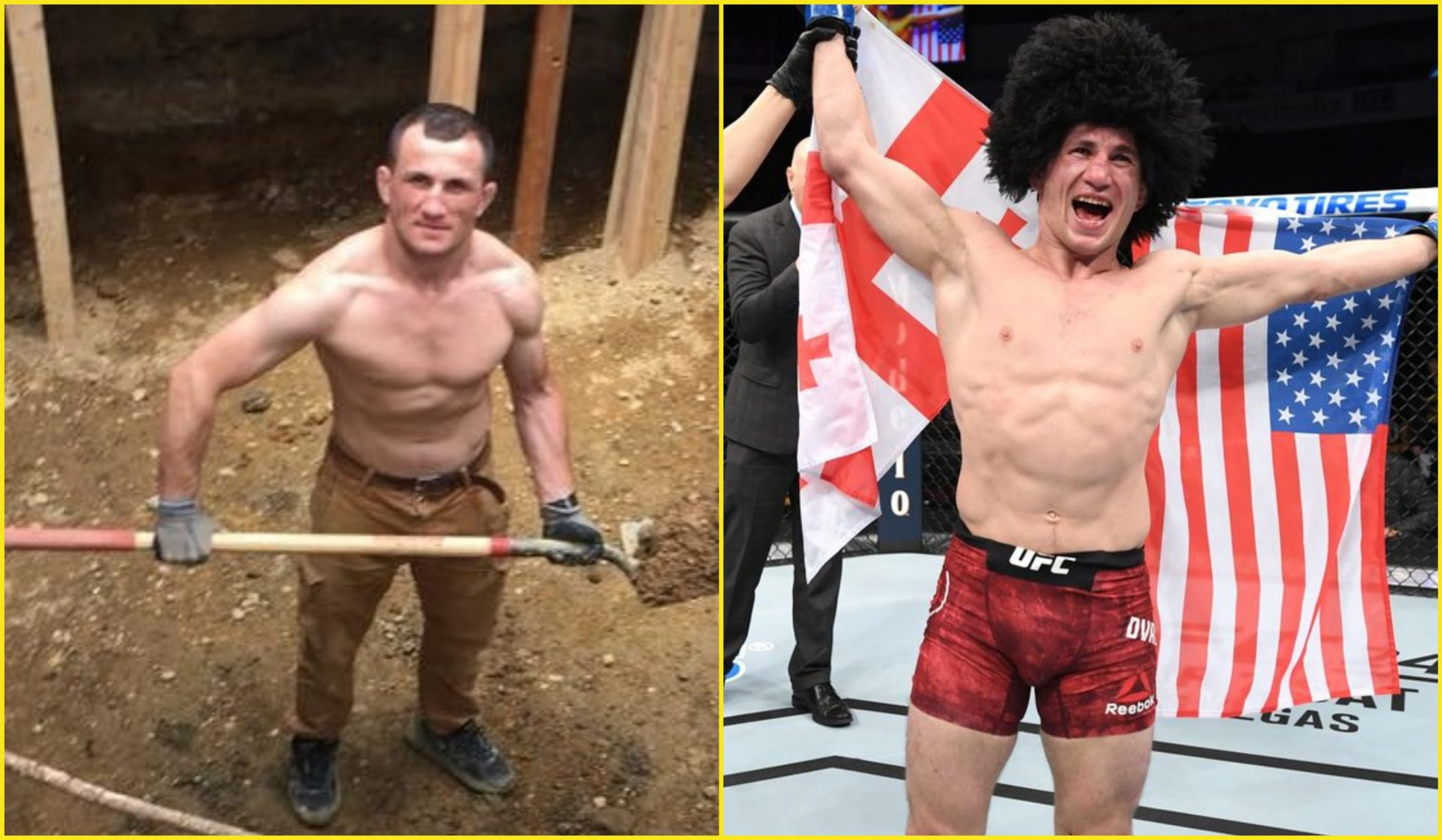 Merab Dvalishvili's journey from a construction worker to a top UFC contender - Merab