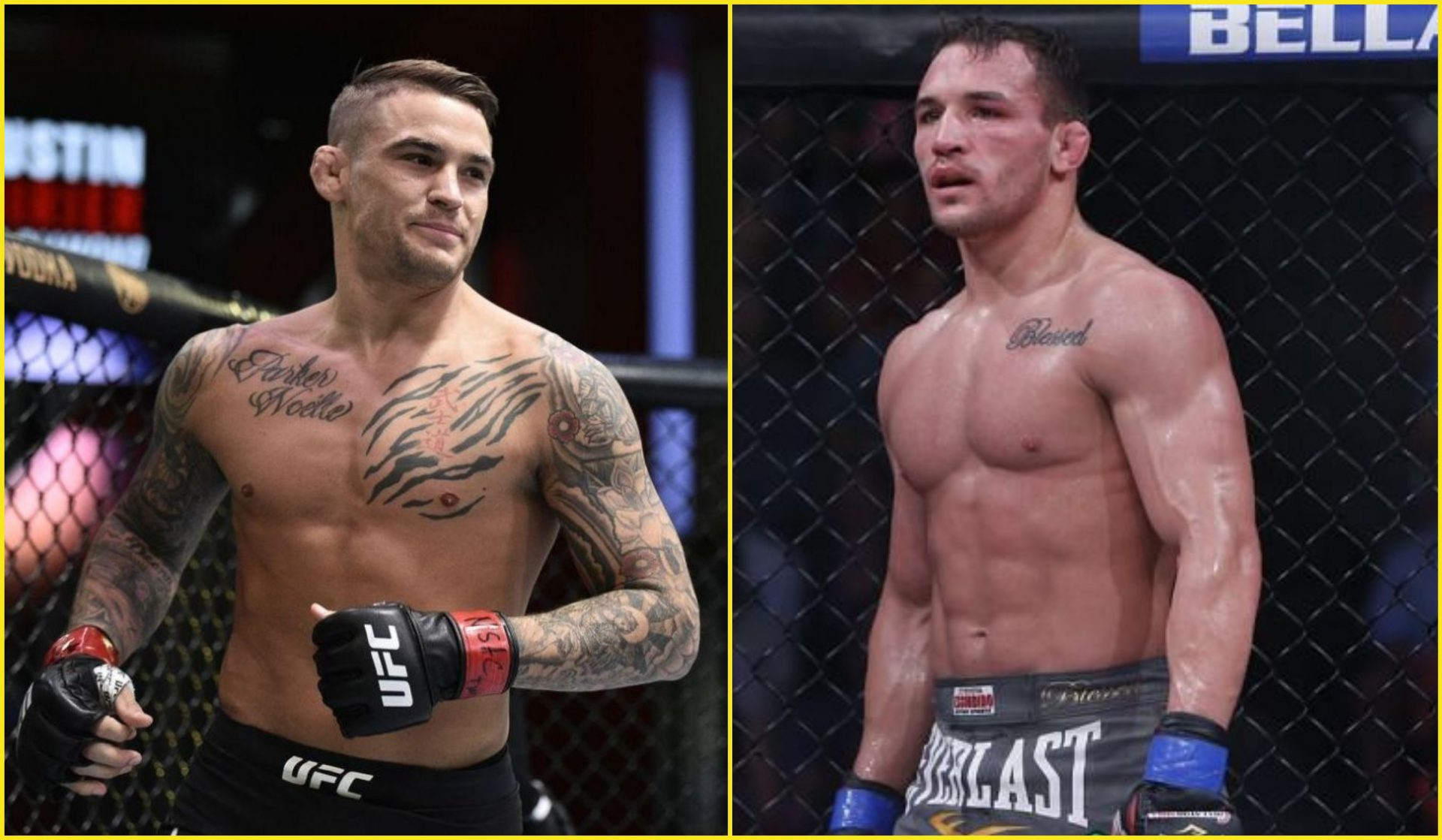 Michael Chandler gunning for a fight with Dustin Poirier - Michael Chandler