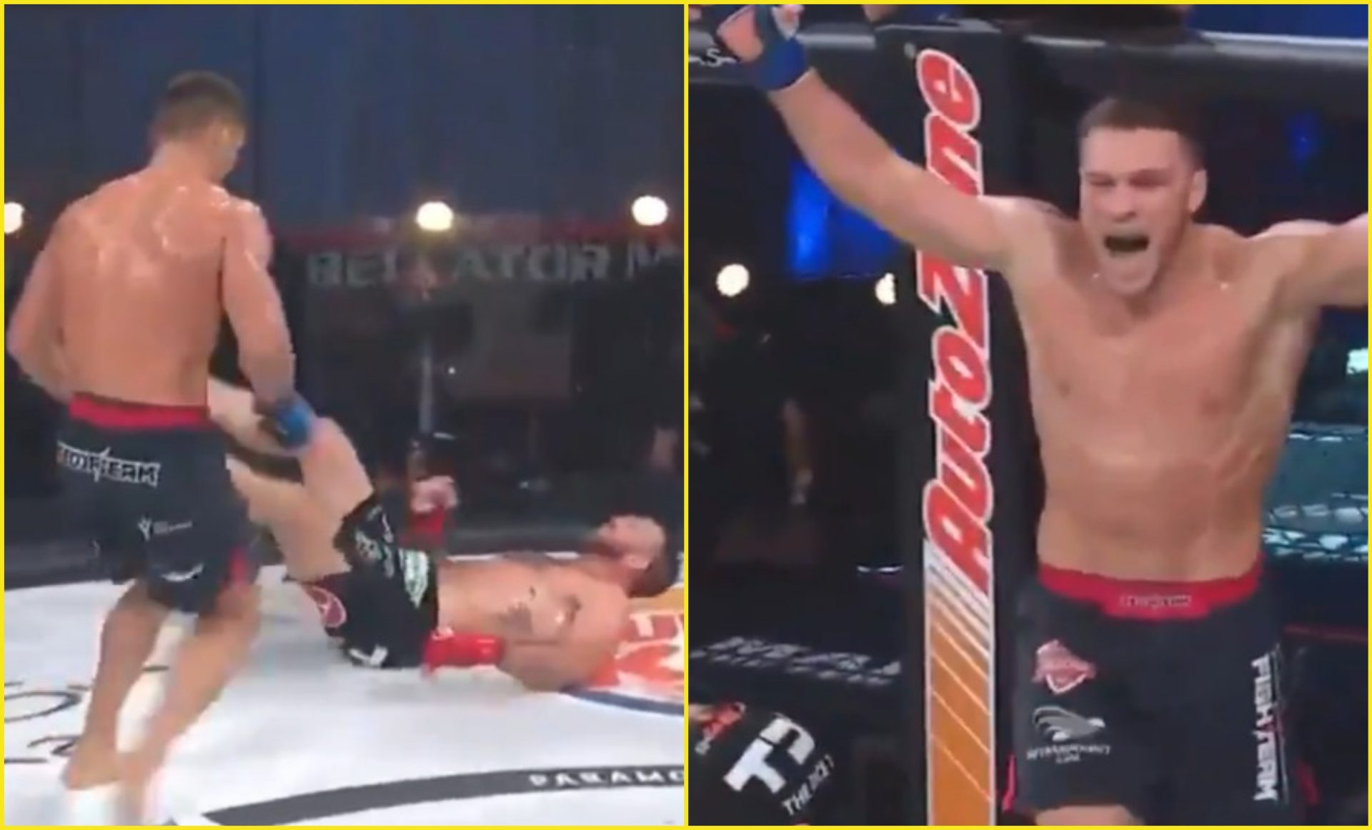 Vadim Nemkov KNOCKS OUT Ryan Bader to win Bellator light heavyweight title - Nemkov