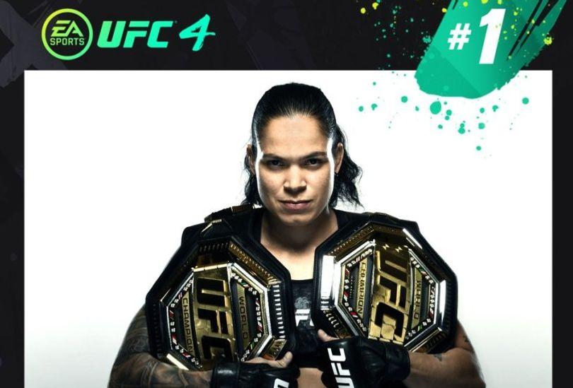 Amanda Nunes ranked above Jon Jones in overall EA UFC 4 rankings - Amanda Nunes
