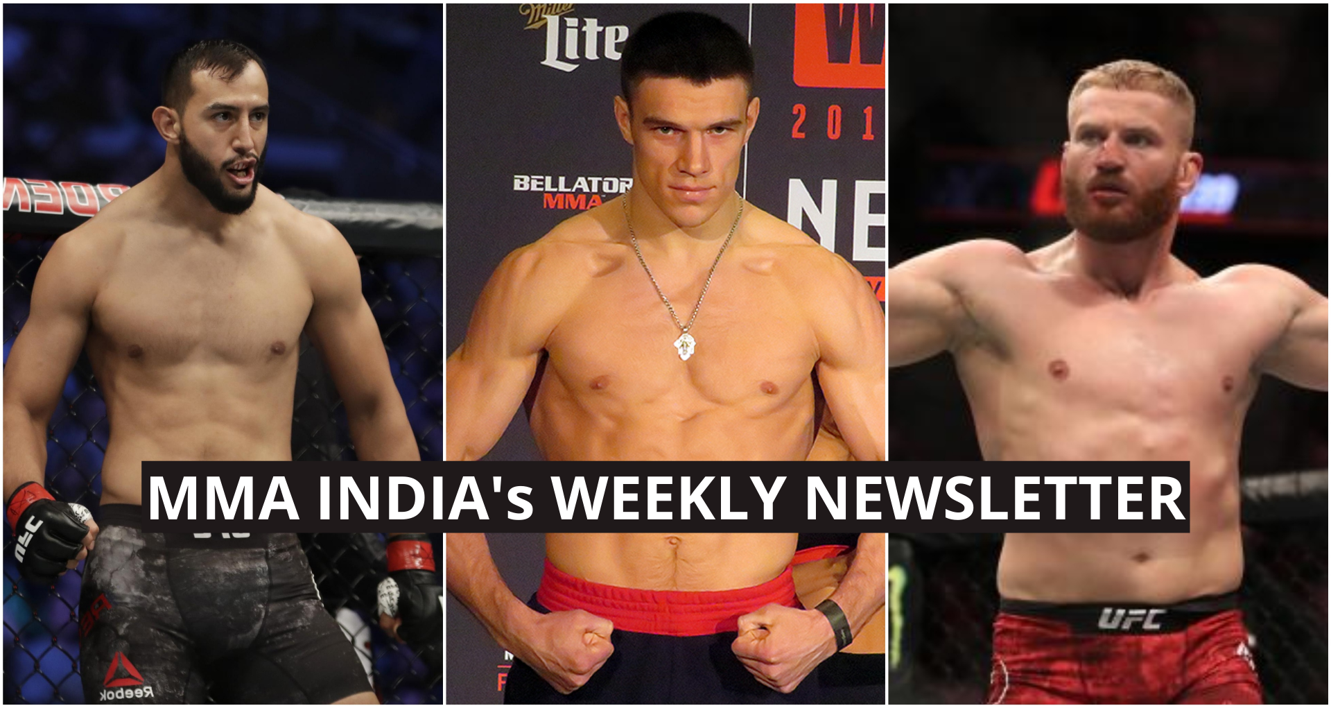 MMA India's Weekly Roundup (18-24 August): Reyes and Blachowicz fight for the LHW crown, Bellator gets new LHW champion and more - Reyes