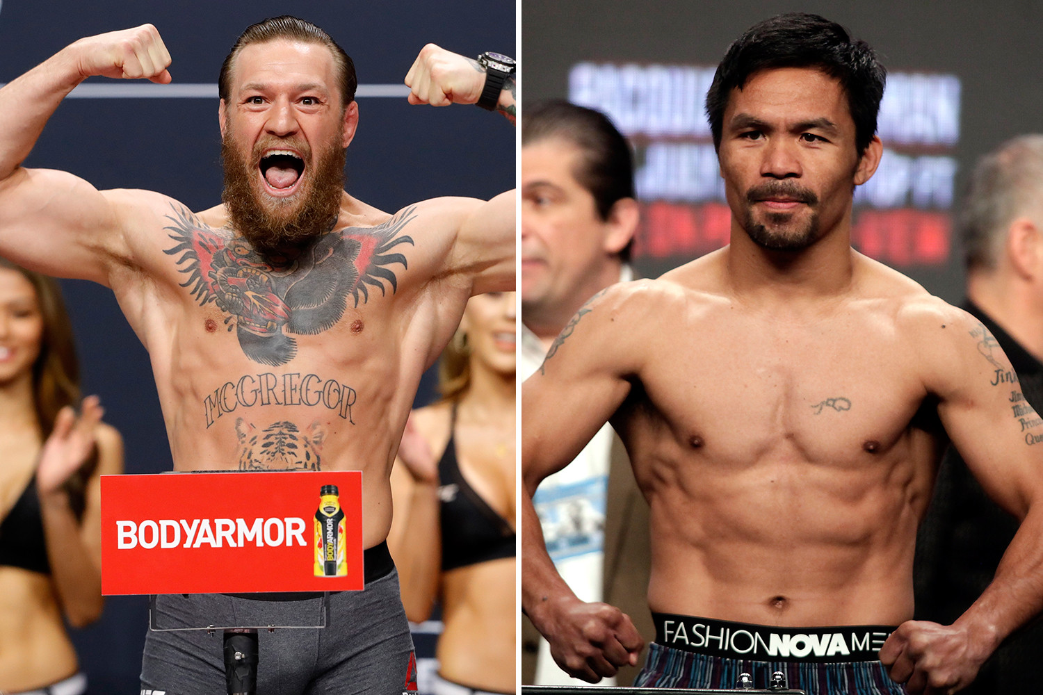 "Manny Pacquiao's coach not interested in McGregor fight: ""Why destroy your legacy for a bum like McGregor"" - McGregor"