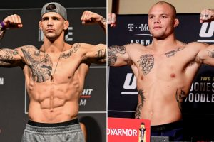 Anthony Smith vs Aleksandar Rakic