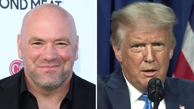 Dana White endorses Donal Trump for re-election - Dana