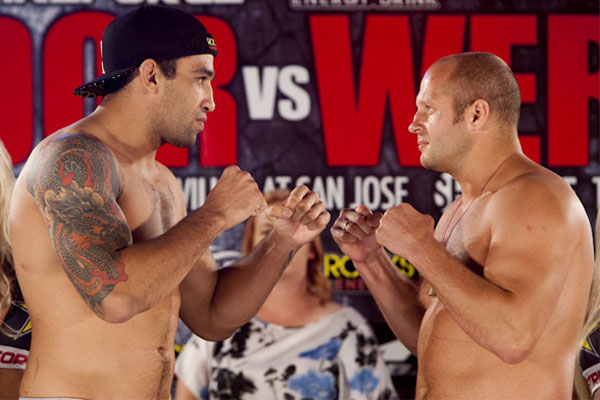 Fedor Emelianenko wants to rematch Fabricio Werdum - Fedor