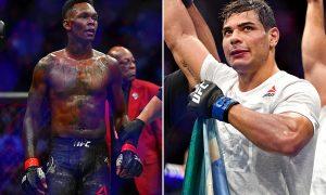 Israel Adesanya vs Paulo Costa UFC 253