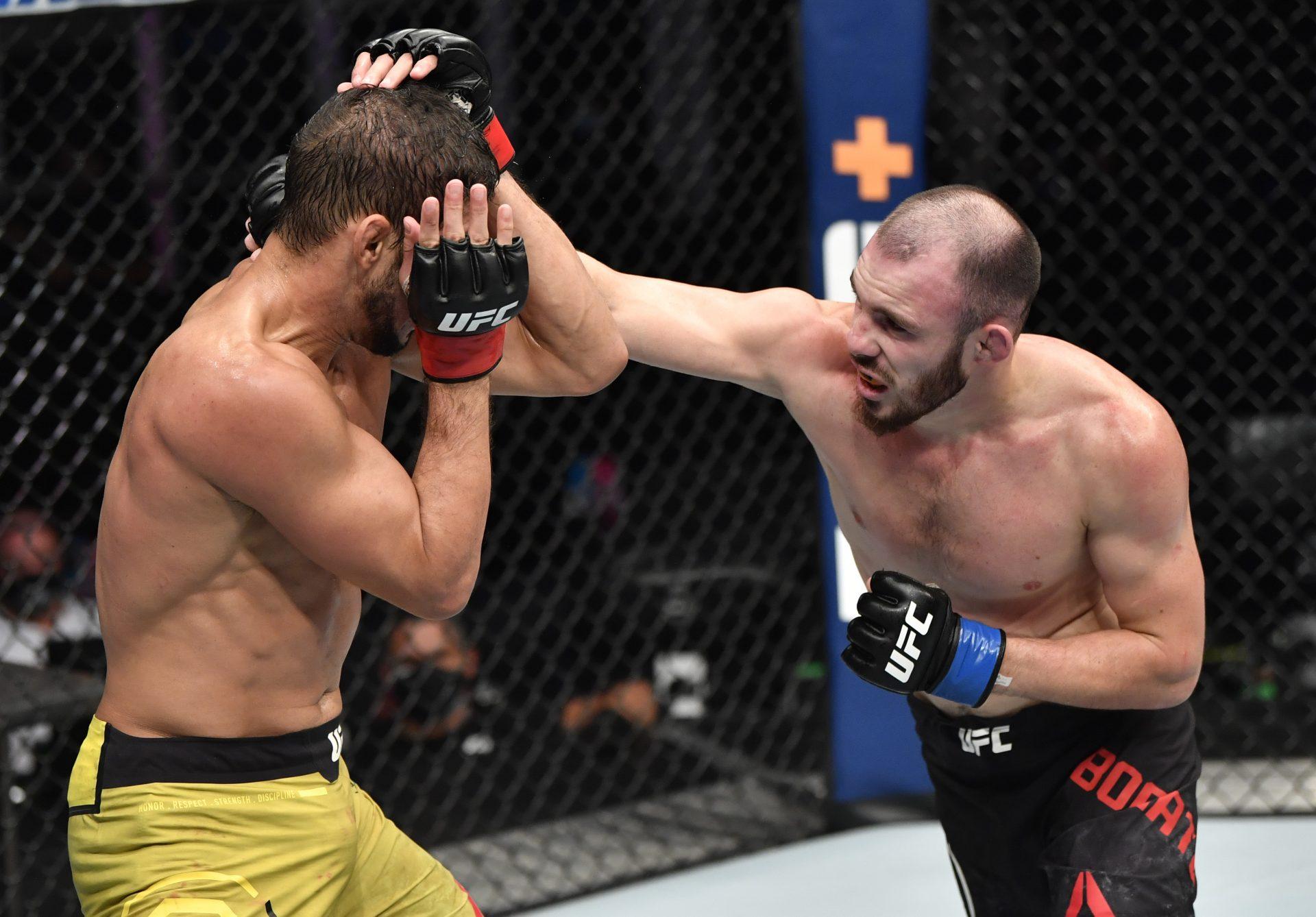 Lightweight fighter Roman Bogatov cut by the UFC - Roman Bogatov
