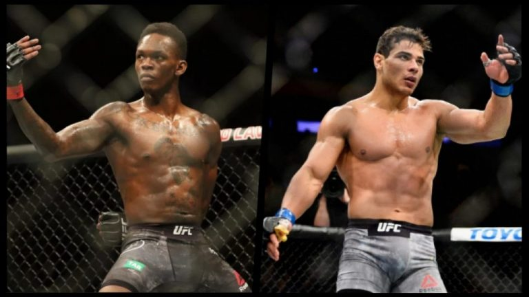 Rockhold believes Paulo Costa could beat Israel Adesanya to become UFC champion