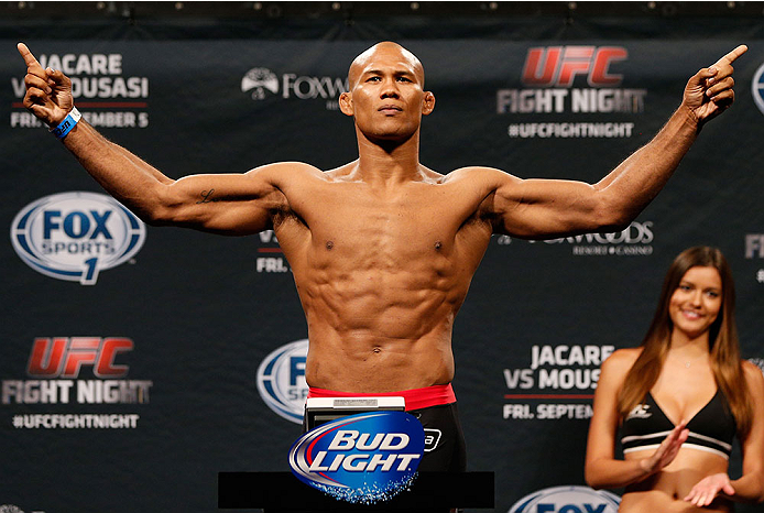 Jacare Souza's life back to normal after testing positive for COVID-19 - Souza