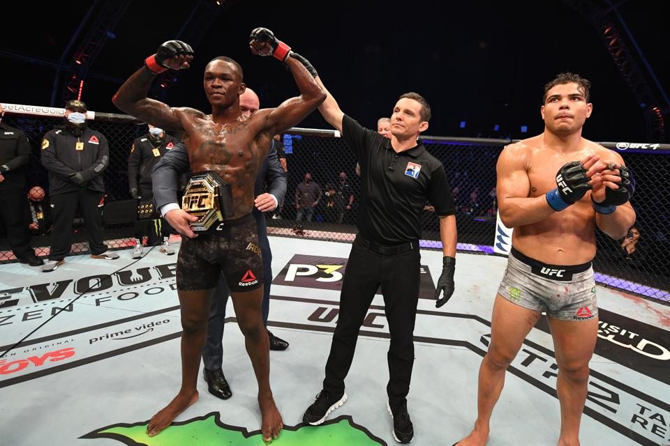 Adesanya defeated Costa