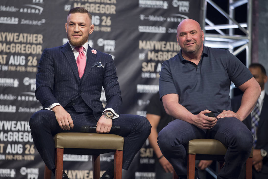 Dana White says UFC is working on fun stuff for Conor McGregor for 2021 return - Conor