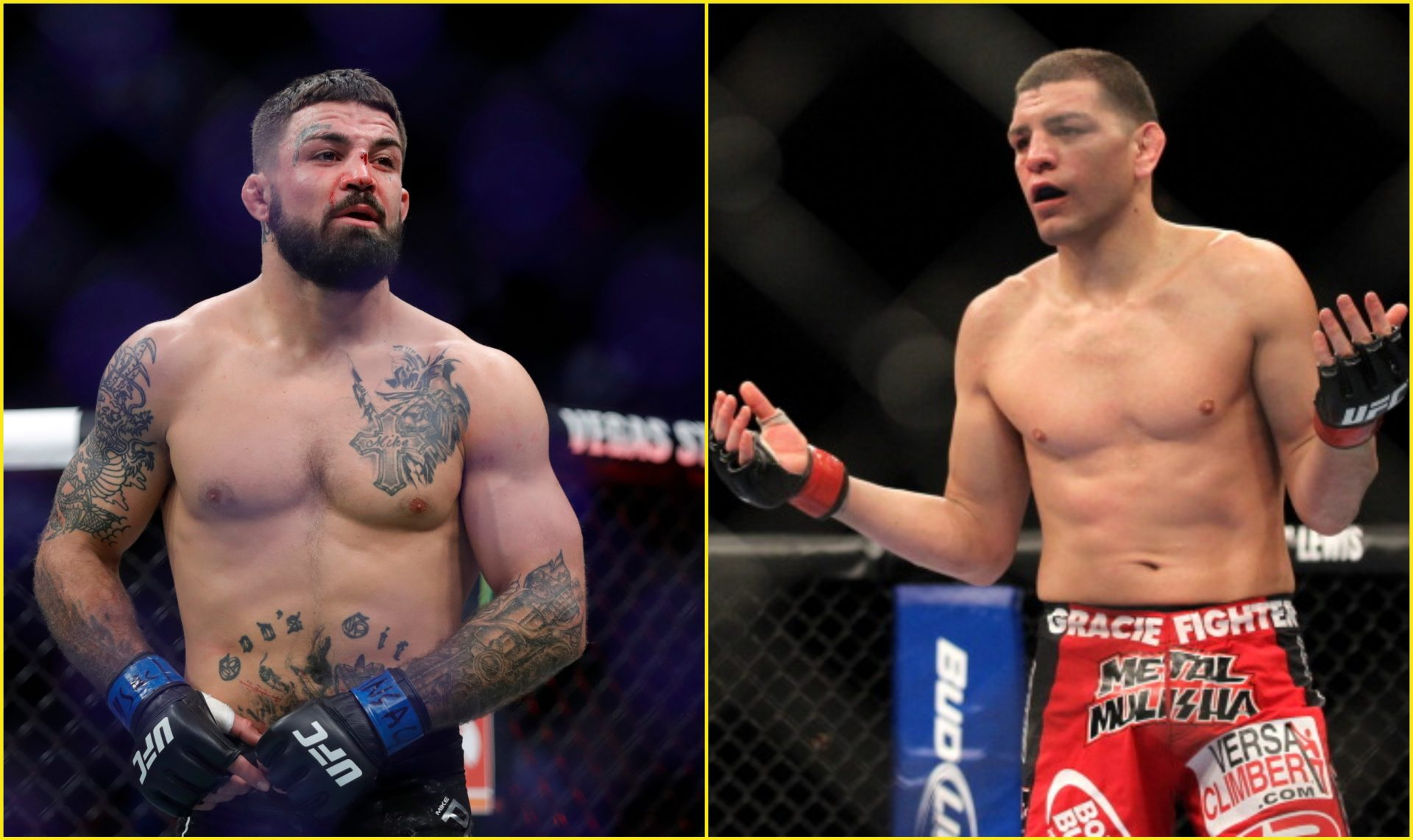 Mike Perry is the latest to call out Nick Diaz - Perry